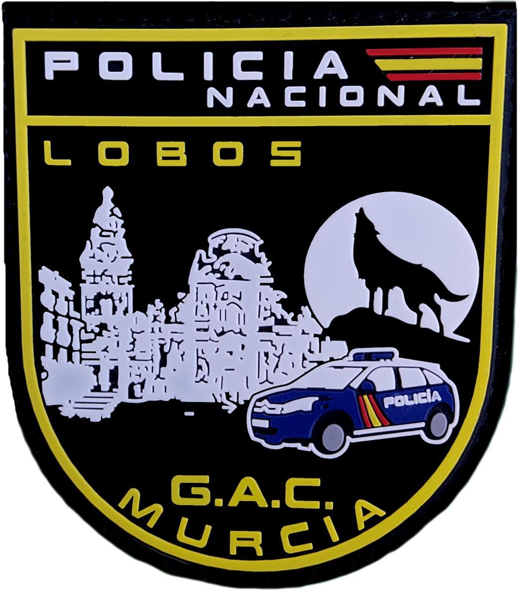 Policía Nacional CNP Grupo de Atención al Ciudadano GAC de Murcia Parche Insignia Emblema Distintivo