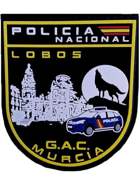 Policía Nacional CNP Grupo de Atención al Ciudadano GAC de Murcia Parche Insignia Emblema Distintivo [0]