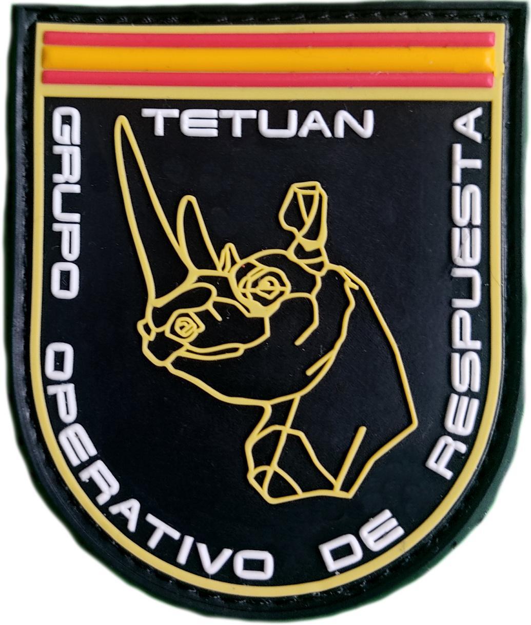 Policía Nacional CNP GOR Tetuán grupo operativo de respuesta Madrid parche insignia emblema distintivo