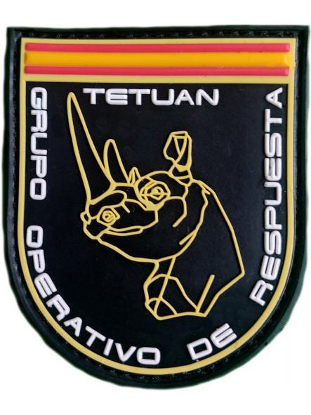 Policía Nacional CNP GOR Tetuán grupo operativo de respuesta Madrid parche insignia emblema distintivo [0]
