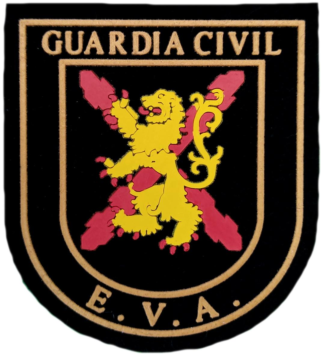 Guardia Civil EVA Escuadrón de Vigilancia Aeroportuaria parche insignia emblema distintivo