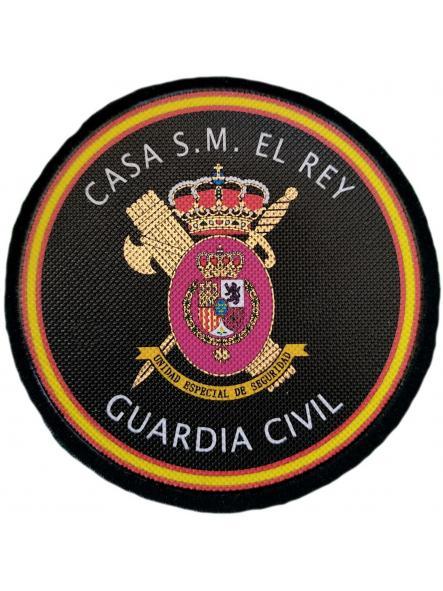 Guardia Civil Unidad Especial de Seguridad Casa de su Majestad el Rey parche insignia emblema distintivo