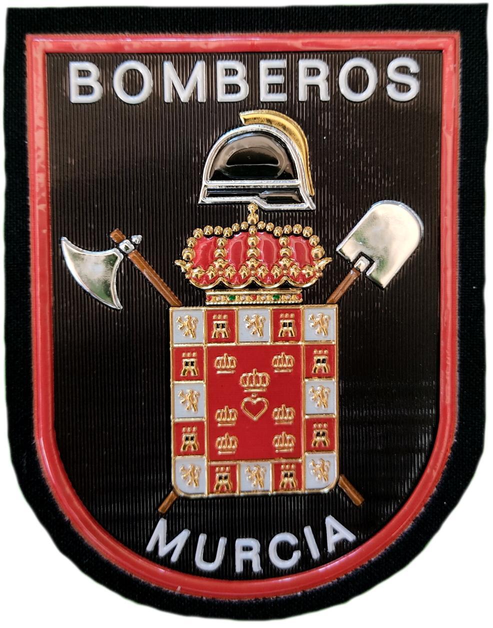Bomberos de la ciudad de Murcia parche insignia emblema distintivo