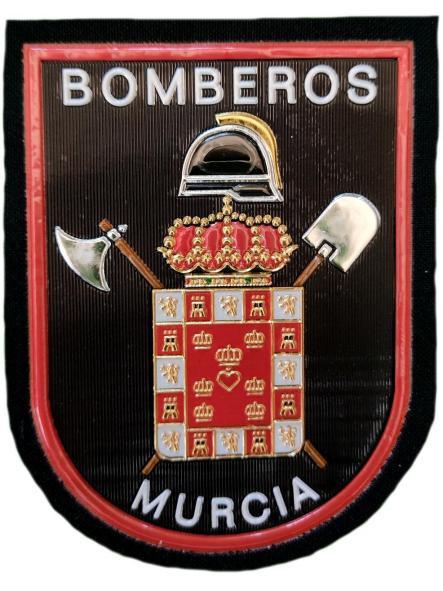 Bomberos de la ciudad de Murcia parche insignia emblema distintivo [0]