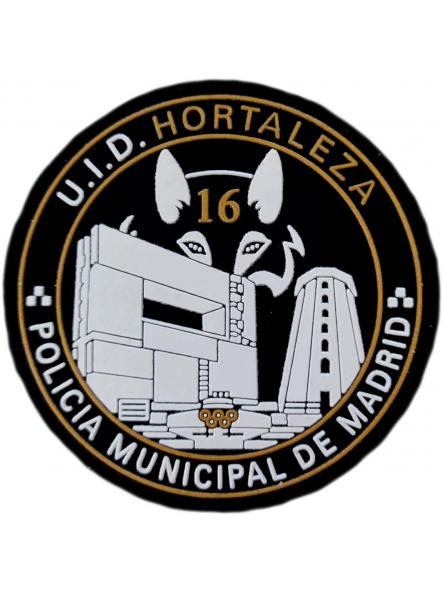 Policía Municipal Madrid UID Hortaleza parche insignia emblema distintivo [0]