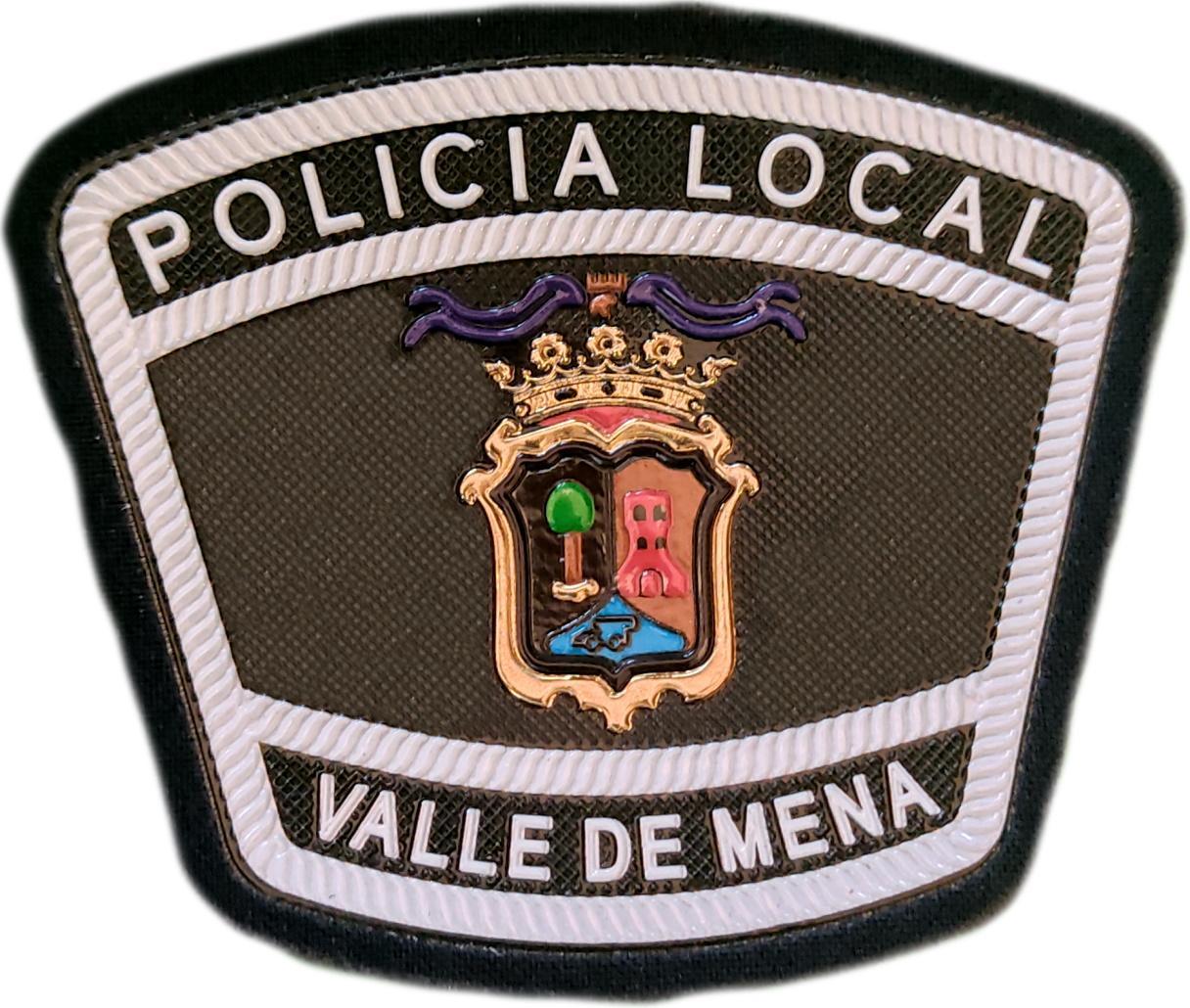Policía Local Valle de Mena Burgos parche insignia emblema distintivo