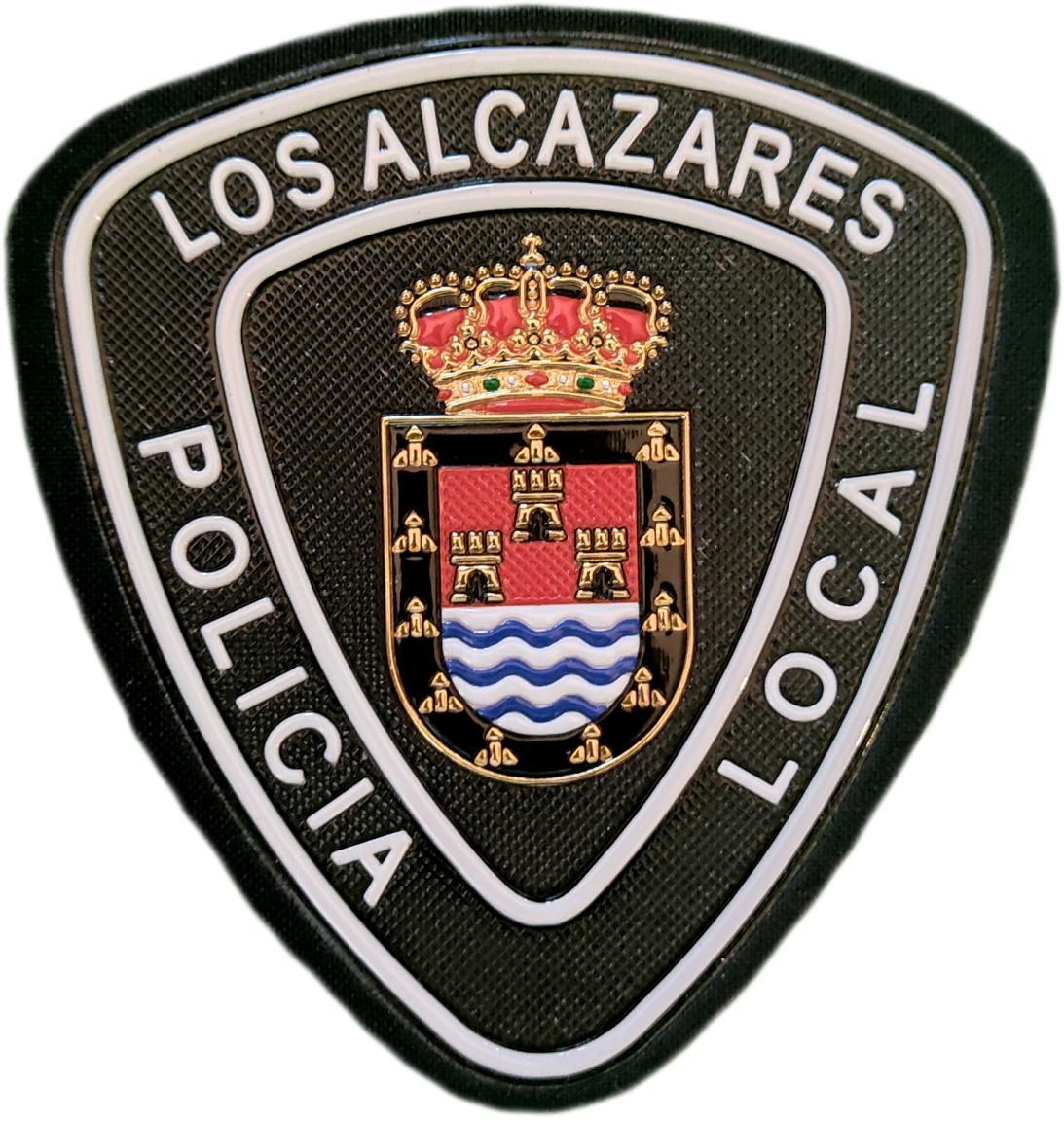 Policía Local Los Alcázares Murcia parche insignia emblema distintivo