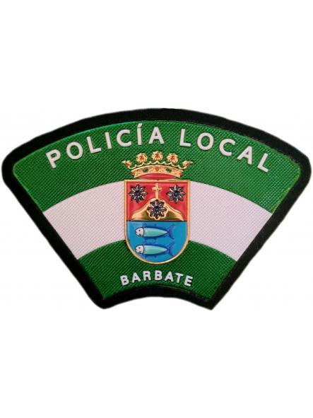 Policía Local Barbate Cádiz parche insignia emblema distintivo