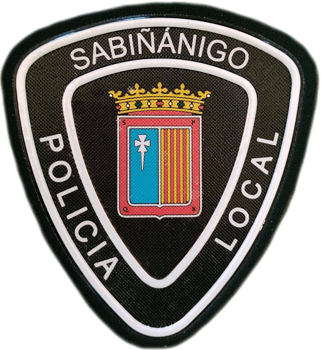Policía Local Sabiñánigo Huesca parche insignia emblema distintivo