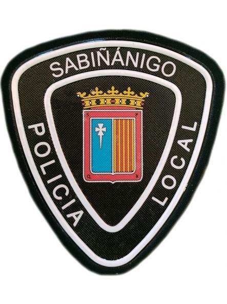 Policía Local Sabiñánigo Huesca parche insignia emblema distintivo [0]