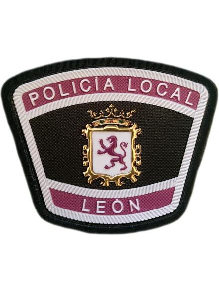 Policía Local León parche insignia emblema distintivo [0]