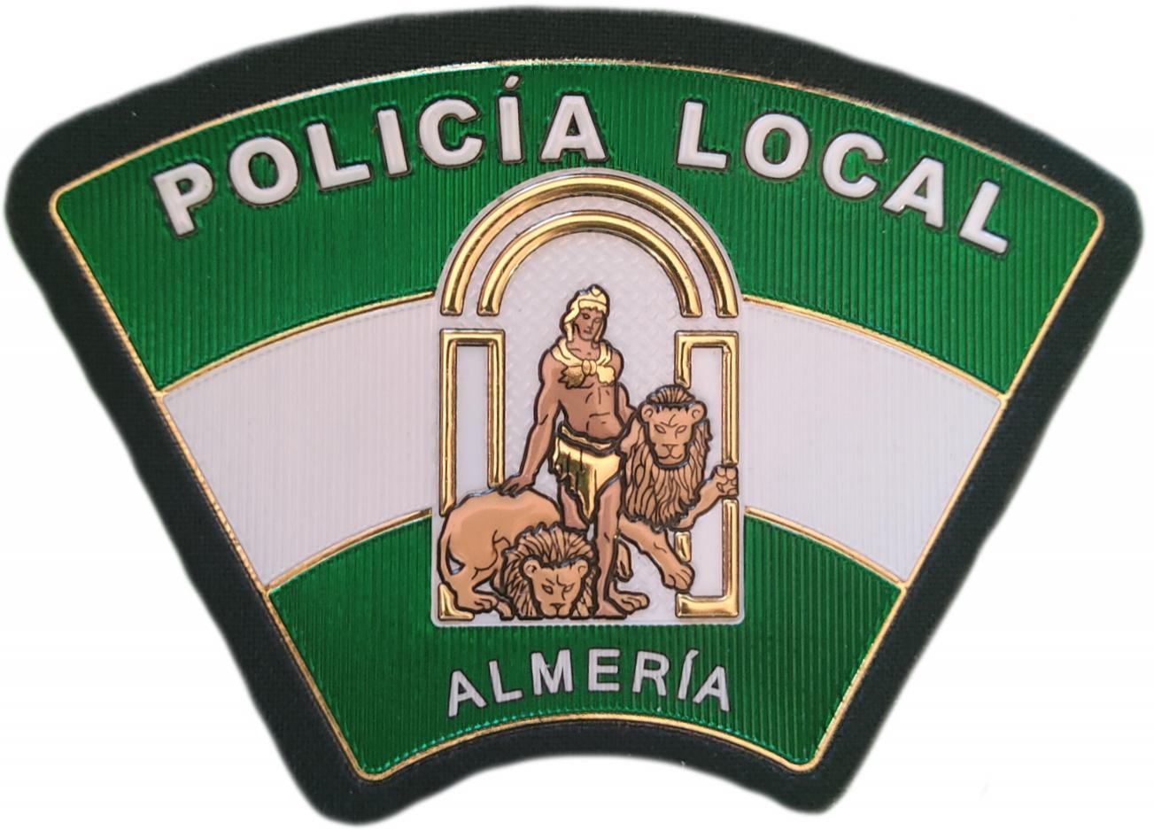 Policía Local Almería Andalucía parche insignia emblema distintivo