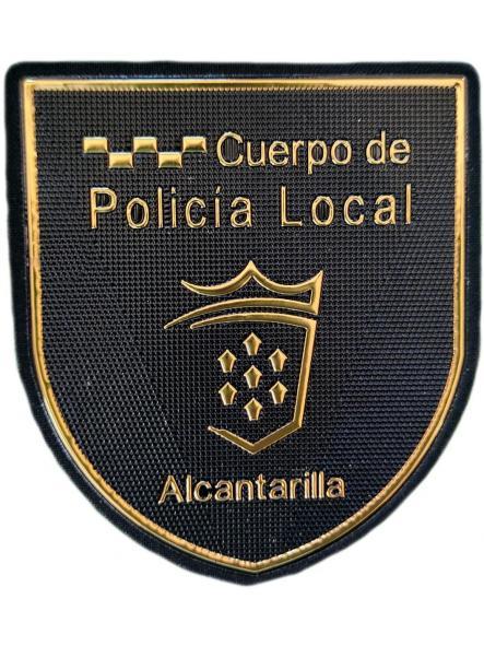 Cuerpo Policía Local Alcantarilla Murcia parche insignia emblema distintivo