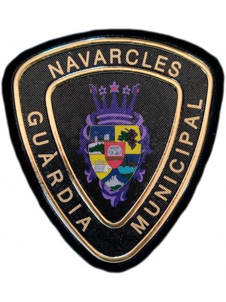Policía Guardia Municipal Navarcles Barcelona parche insignia emblema distintivo