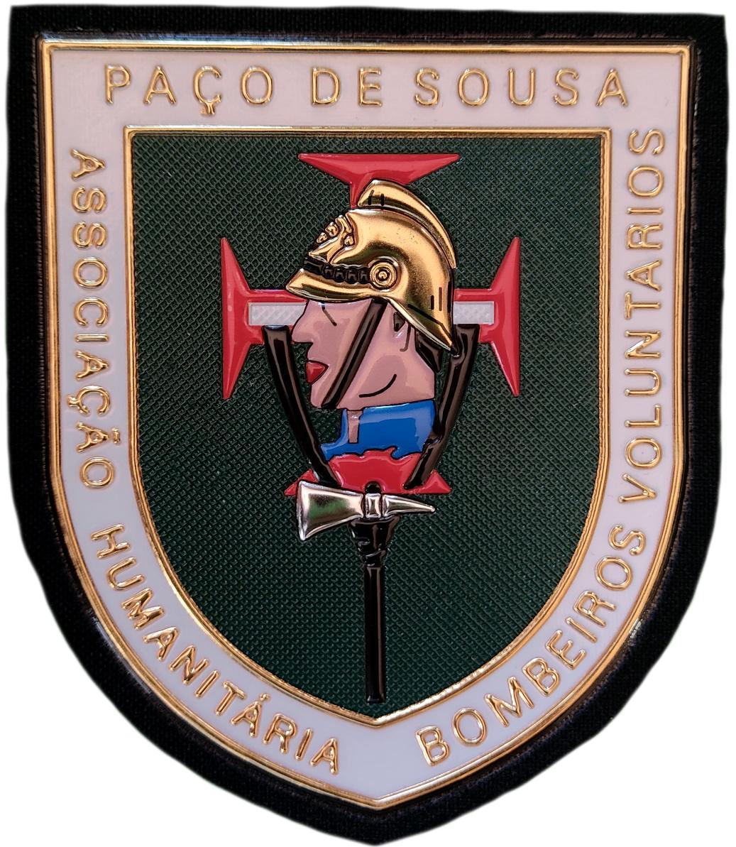 Bomberos Voluntarios Paço de Sousa Portugal parche insignia emblema distintivo