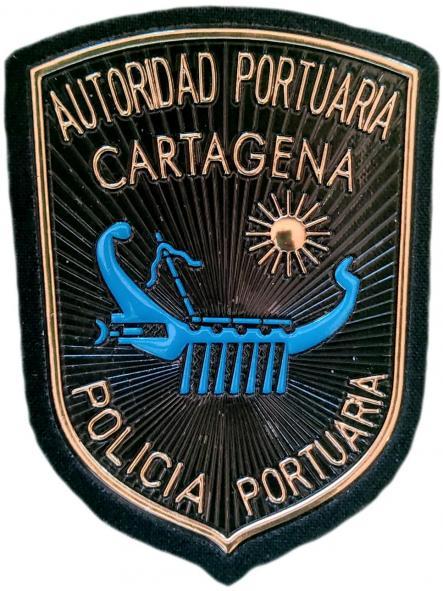 Policía Autoridad Portuaria de Cartagena parche insignia emblema distintivo