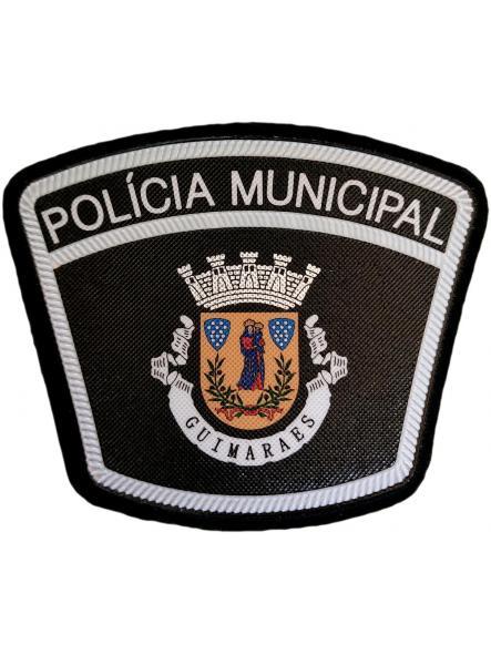 Policía Municipal Ciudad de Guimaraes Portugal parche insignia emblema distintivo