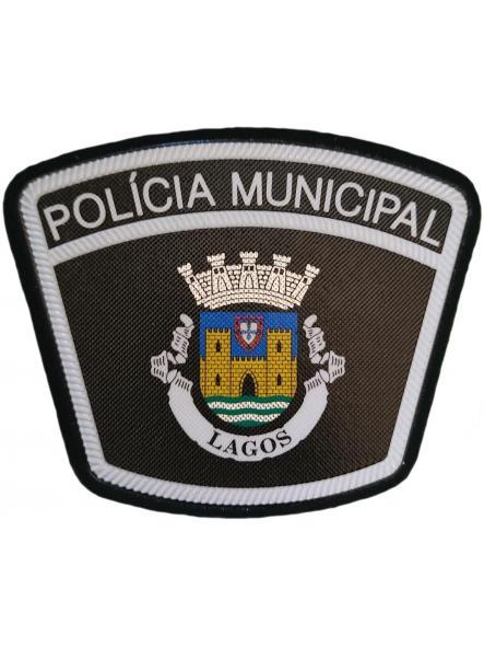 Policía Municipal Ciudad de Lagos Portugal parche insignia emblema distintivo