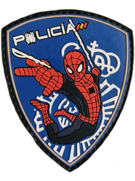 Policía Nacional CNP infantil Spiderman parche insignia emblema distintivo