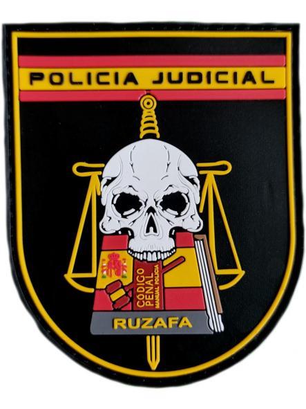 Policía Nacional CNP Comisaría Ruzafa Valencia Grupo Judicial parche insignia emblema distintivo