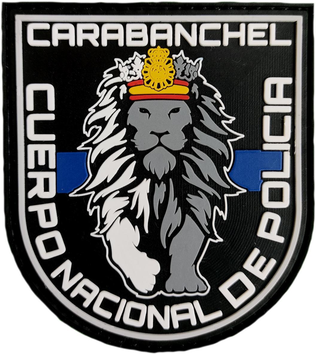 Policía Nacional CNP Distrito Carabanchel Madrid parche insignia emblema distintivo
