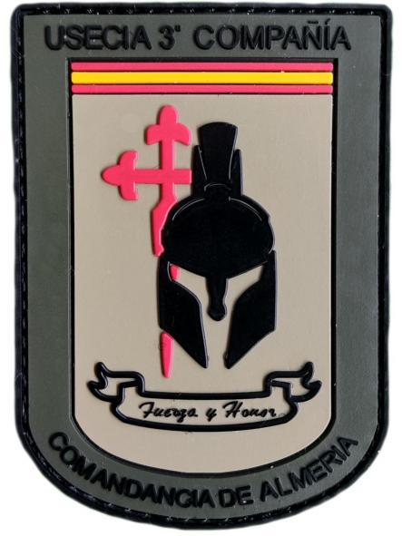 Guardia Civil Usecia 3 Compañía Almería parche insignia emblema distintivo