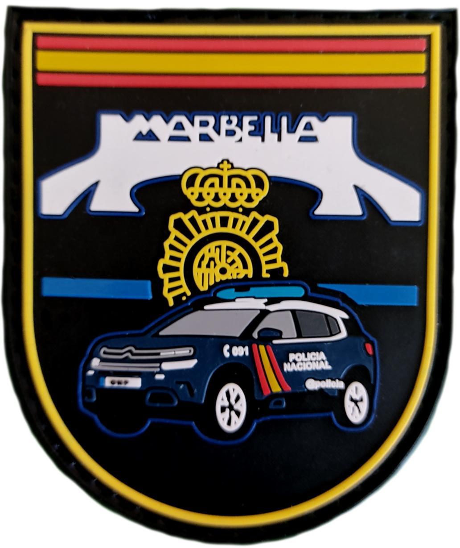 Policía Nacional CNP Comisaría Marbella GAC Z parche insignia emblema distintivo