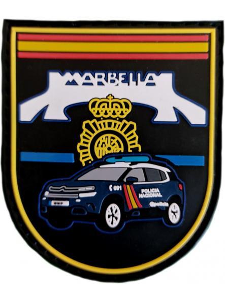 Policía Nacional CNP Comisaría Marbella GAC Z parche insignia emblema distintivo [0]