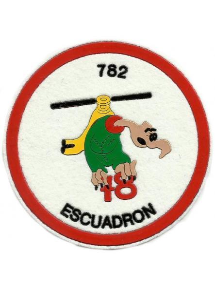 Ejército del aire escuadrón 782 parche insignia emblema distintivo