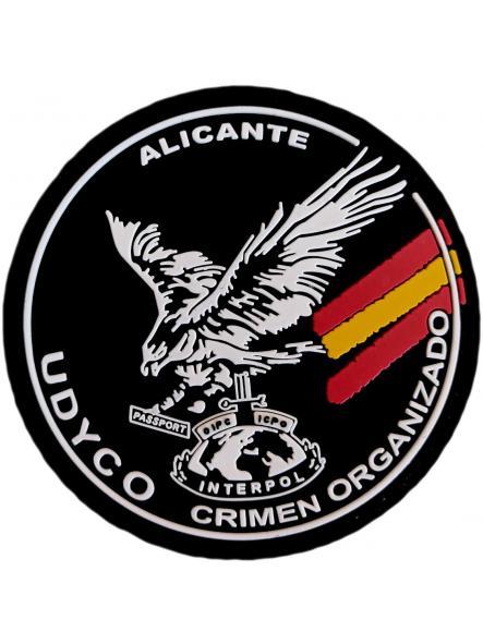 Policía Nacional CNP UDYCO Alicante parche insignia emblema distintivo