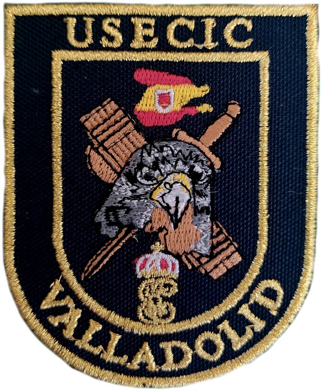 Guardia Civil Usecic Valladolid parche insignia emblema distintivo bordado