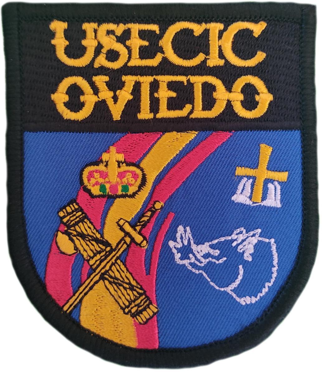 Guardia Civil Usecic Oviedo parche insignia emblema distintivo bordado