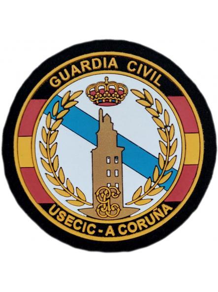Guardia Civil Usecic A Coruña parche insignia emblema distintivo