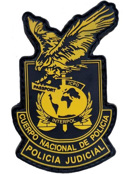 Policía nacional CNP Grupo policía judicial Alicante parche insignia emblema distintivo