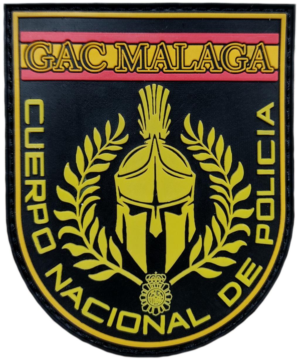 Policía Nacional CNP Grupo de Atención al Ciudadano GAC 091 Málaga Parche Insignia Emblema Distintivo