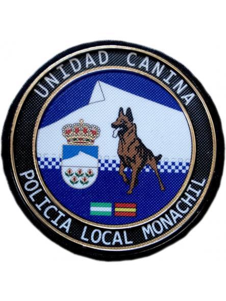 Policía Local Monachil Granada unidad canina k-9 parche insignia emblema distintivo