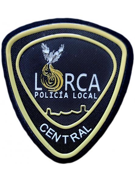 Policía Local Lorca Central Murcia parche insignia emblema distintivo