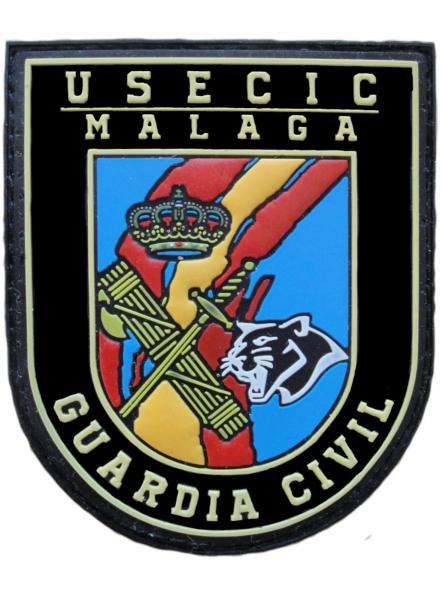 Guardia civil usecic Málaga parche insignia emblema distintivo