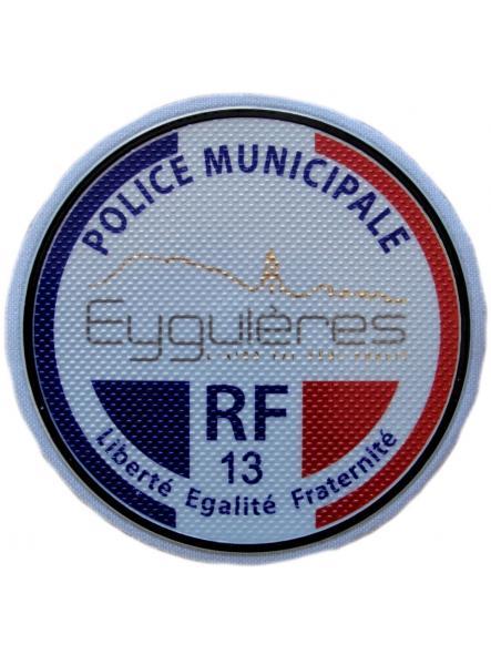 Policía Municipal Ville de Eyguléres Police Municipale parche insignia emblema distintivo ecusson