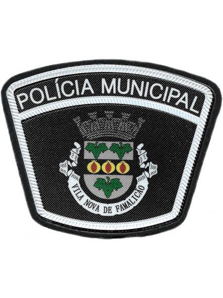 Policía Municipal Ciudad de Vila nova de Famalicao Portugal parche insignia emblema distintivo