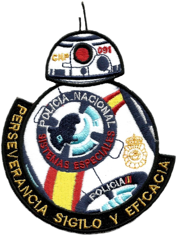 Policía nacional CNP sistemas especiales - bb-8 star wars parche insignia emblema distintivo