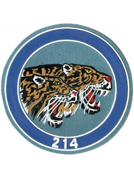 Ejército del aire escuadrón 214 parche insignia emblema distintivo
