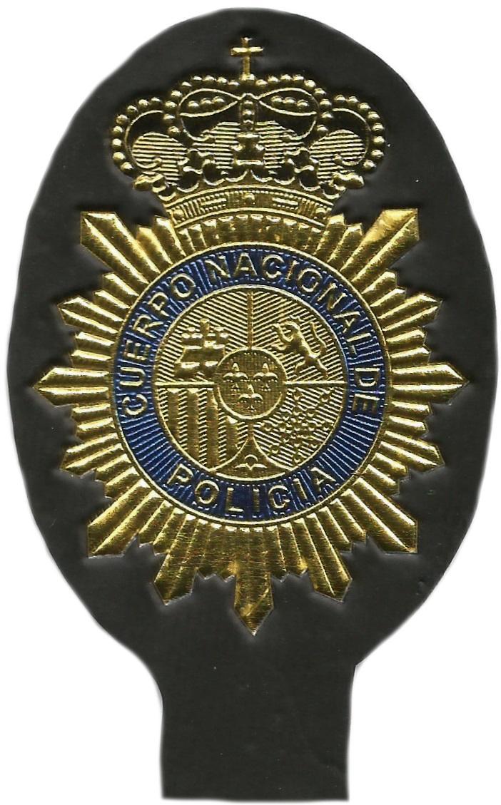 Policía Nacional CNP emblema de pecho en texflex parche insignia distintivo
