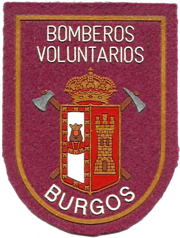 Bomberos Voluntarios de Burgos parche insignia emblema distintivo