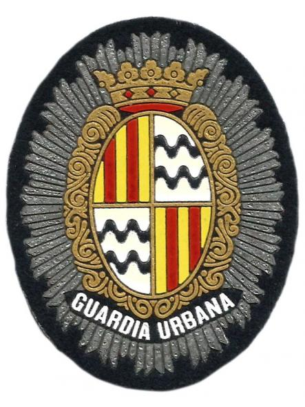 Policía Guardia Urbana de Badalona parche insignia emblema distintivo de pecho [0]