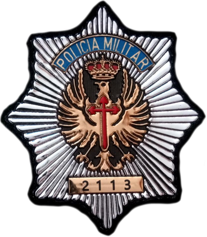 Ejercito de Tierra Policía Militar parche insignia emblema distintivo
