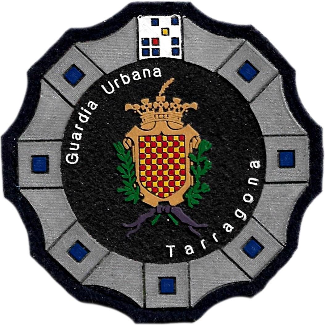 Policía Guardia Urbana de Tarragona parche insignia emblema distintivo de pecho modelo 92