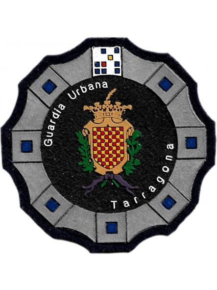 Policía Guardia Urbana de Tarragona parche insignia emblema distintivo de pecho modelo 92 [0]