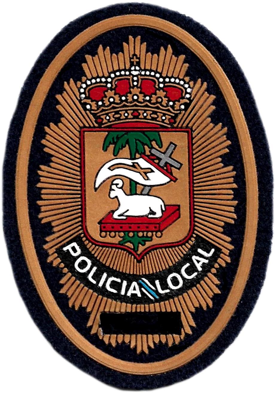 Policía Local concello de Poio parche insignia emblema distintivo de pecho