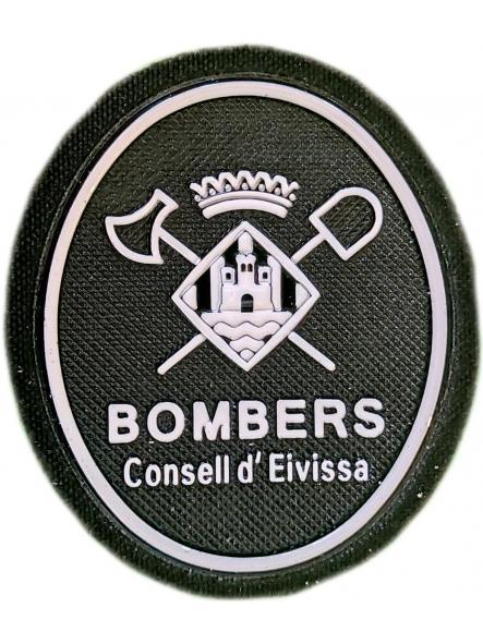 Bomberos de Ibiza Eivissa parche insignia emblema distintivo de pecho